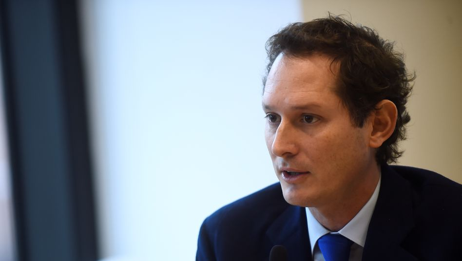 Agnelli-Spross John Elkann ist CEO von Exor und Fiat Chrysler. Nun hat der Manager das Rückversicherungsgeschäft von Exor verkauft