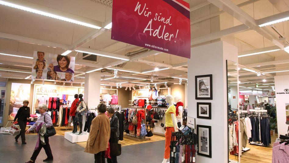 Adler Modemärkte: Kaufinteressent aus dem Ruhrgebiet