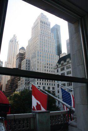 Blick auf den Central Park: Bei Immobilien zählen vor allem drei Kriterien - Lage, Lage und Lage