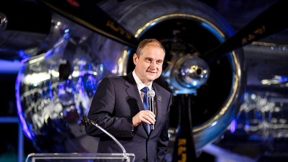 Raketenmann: Nach Stationen bei Henkel, Amazon und der Weltraumfirma SpaceX ist der Deutsche Torsten Pilz Vorstand beim US-Konzern Honeywell