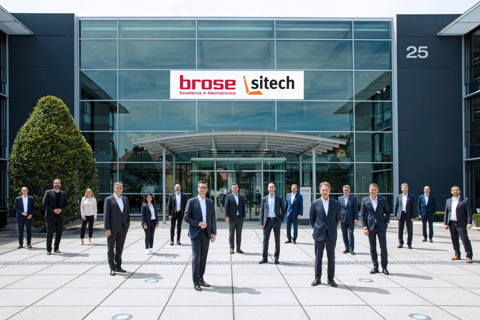 SITECH and Brose planning to set up a global system supplier for