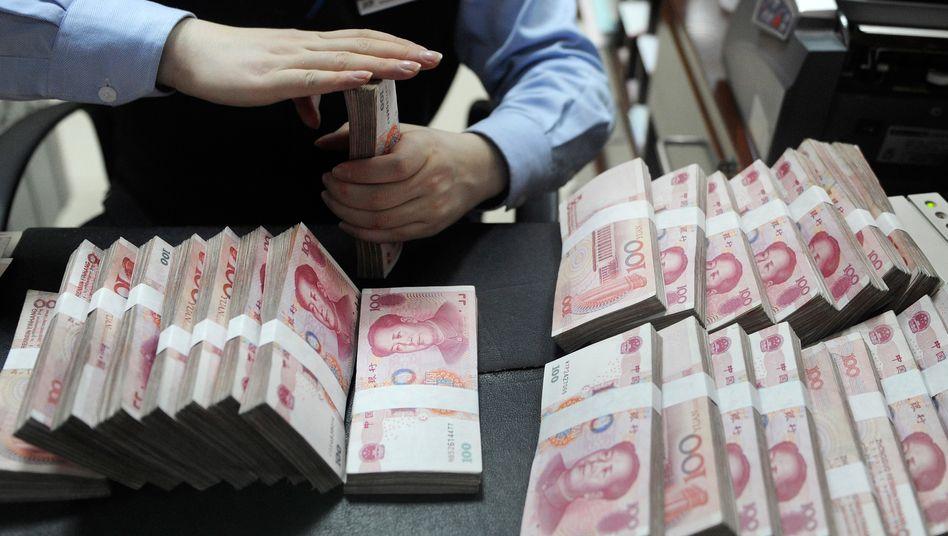 Yuan-Scheine: Abwertung löste Schockwellen an den Finanzmärkten aus