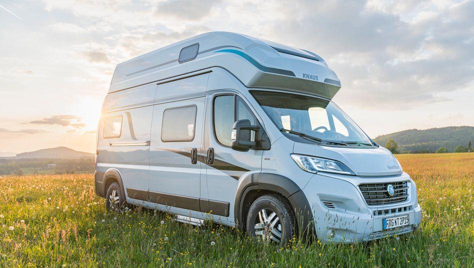 Rolling Home: Wohnmobil von Knaus-Tabbert.