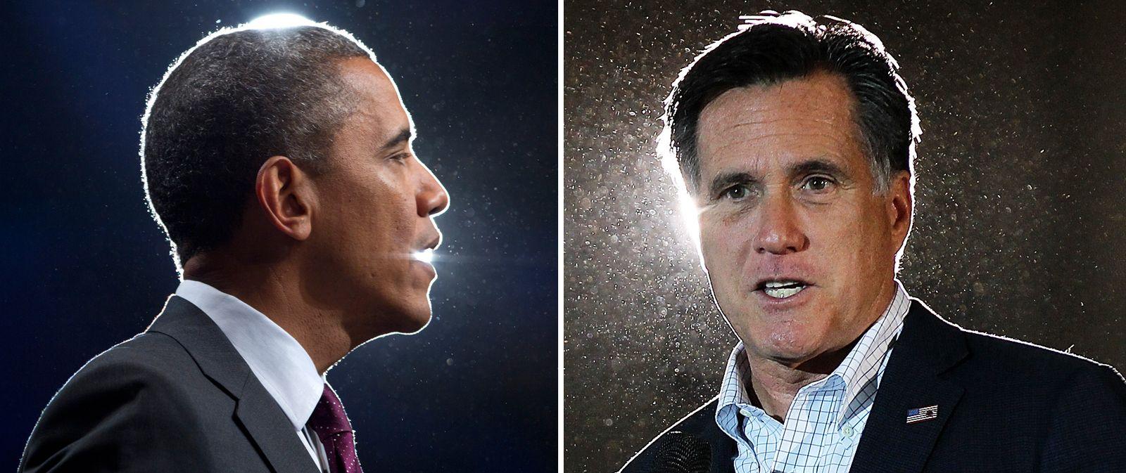 KOMBO Barack Obama / Mitt Romney