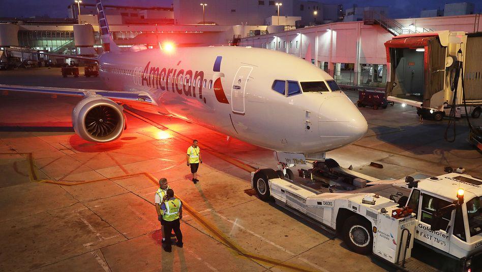 Am Boden: 737 Max am Flughafen Miami (Archivaufnahme, 2019)
