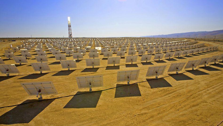 Strom aus der Wüste: Die ganze deutsche Industrie wie ein Mann auf ein Ziel ausgerichtet
