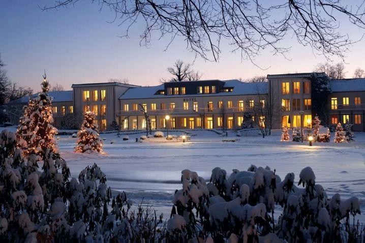 Weltmeisterliche Therme: Parkhotel Lippspringe, Nordrhein-Westfalen