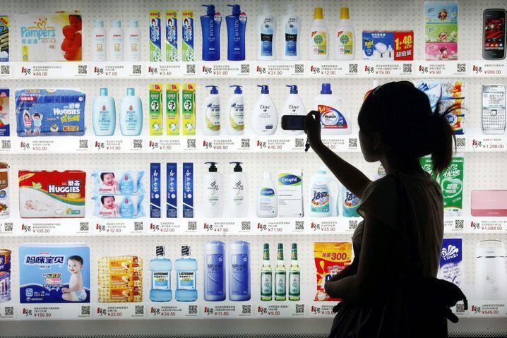 Einkaufen per Smartphone: QR-Codes