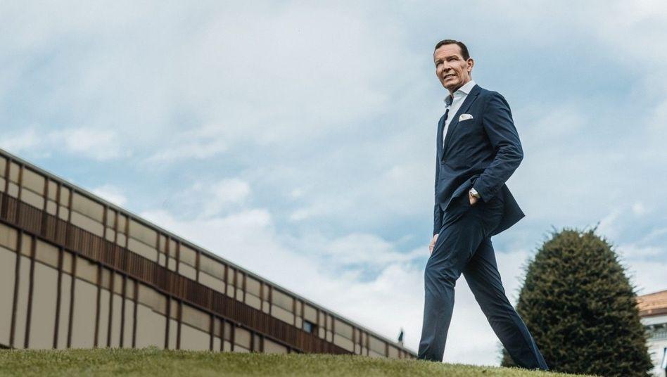 Im Anflug: Nach einem Jahr Wettbewerbssperre startet Daniel Grieder im Juni als Vorstandschef von Hugo Boss
