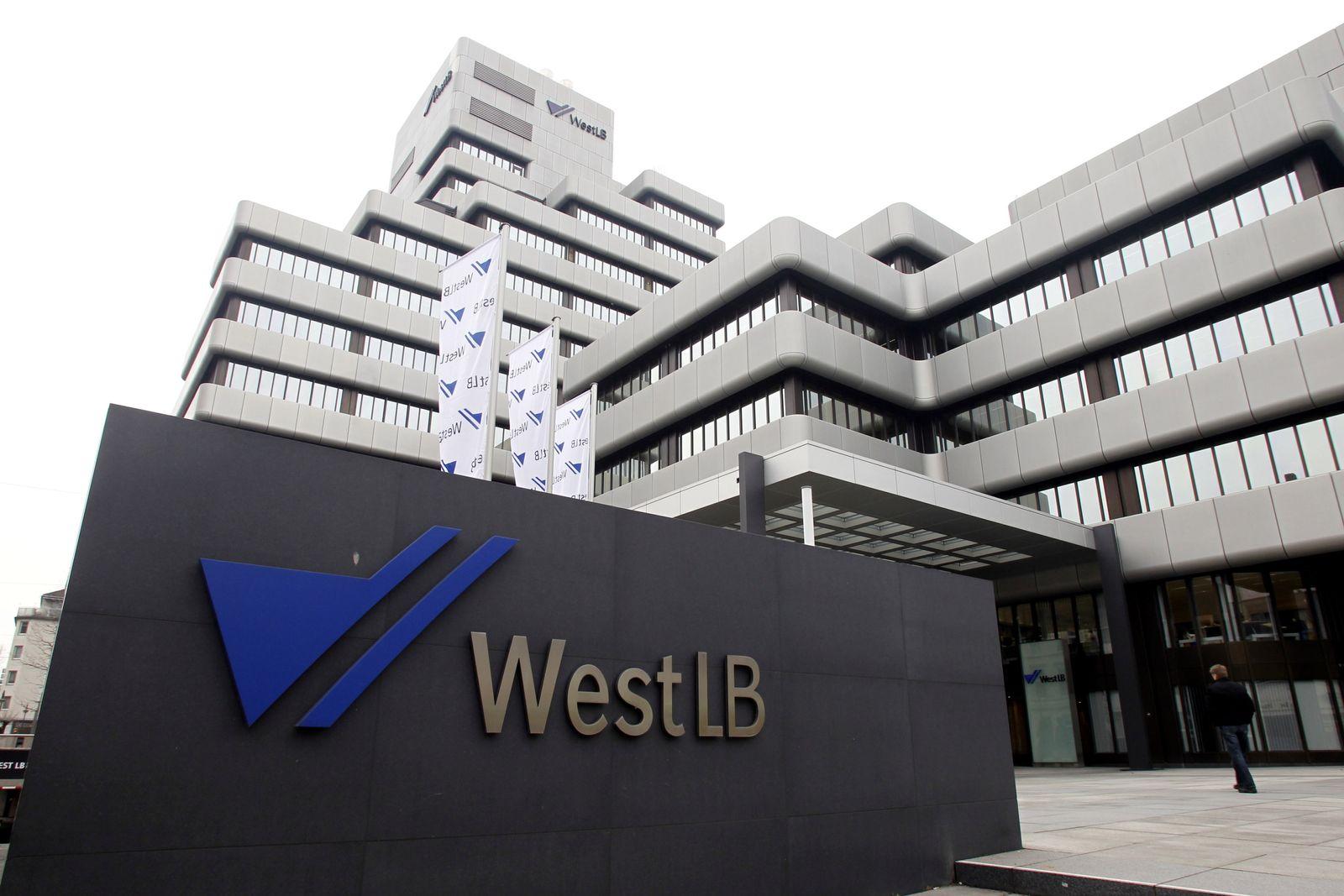 NICHT VERWENDEN 10WestLB Zentrale in Düsseldorf