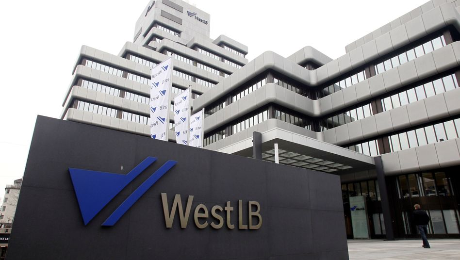 WestLB-Gebäude an der Friedrichstraße in Düsseldorf