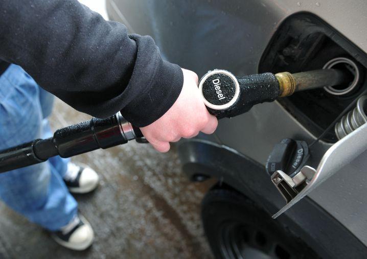 Diesel: Die 1-Euro-Marke könnte in Kürze fallen