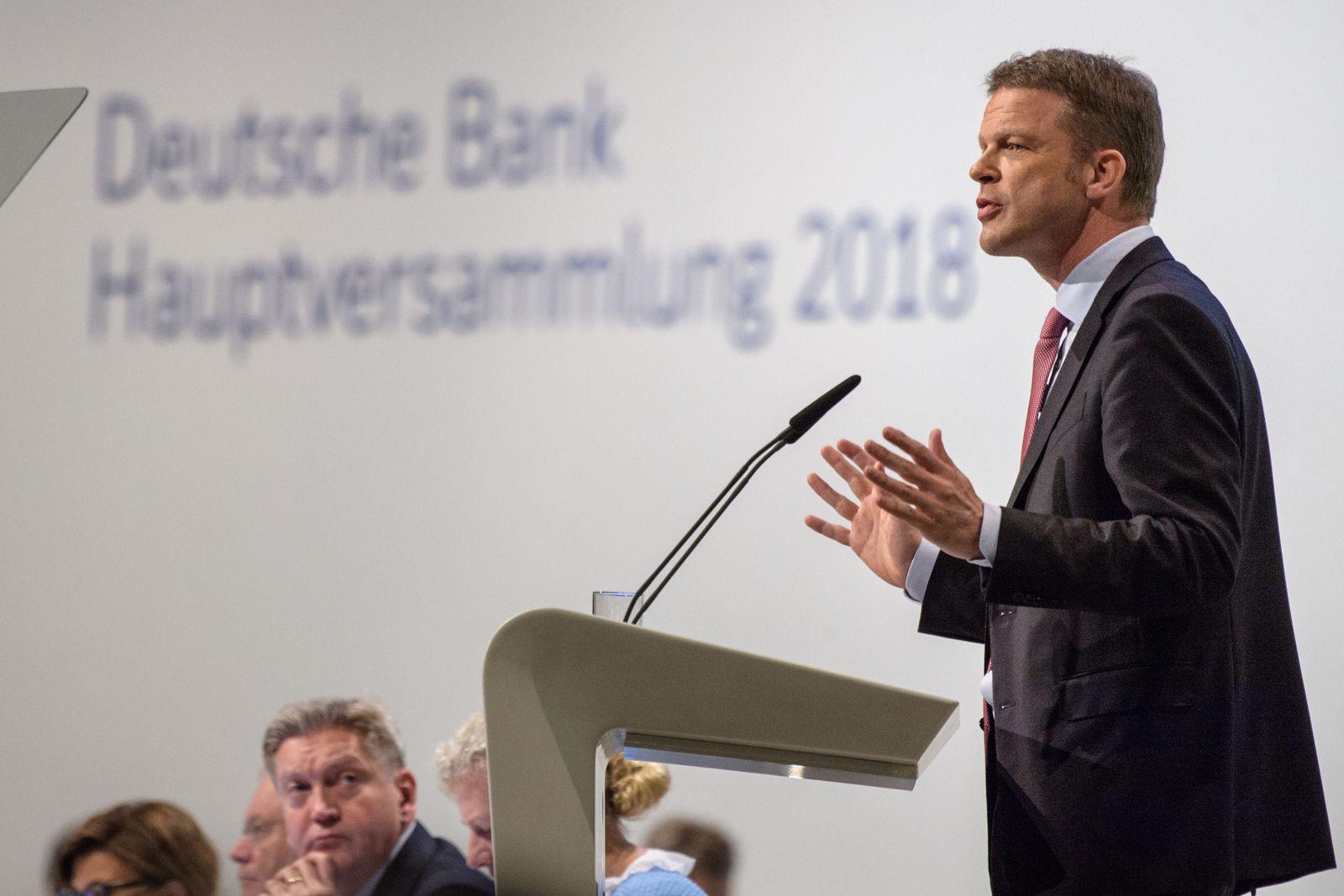 Christian Sewing / Hauptversammlung