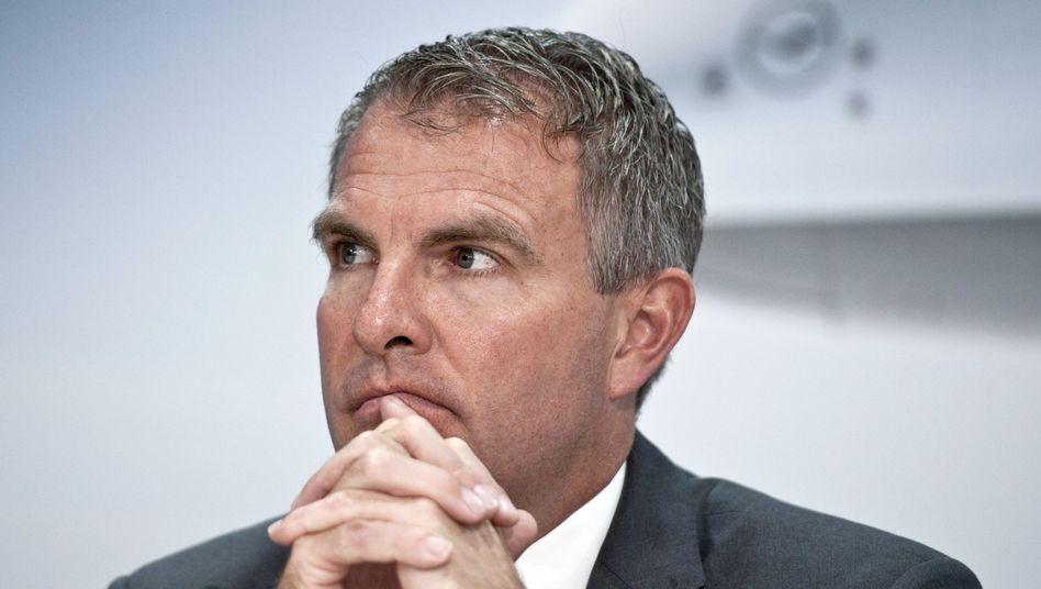 War nichts: Lufthansa-Chef Carsten Spohr.