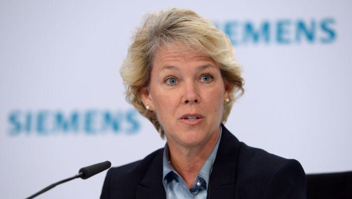 Personalien: Die fünf mächtigsten Frauen bei Siemens
