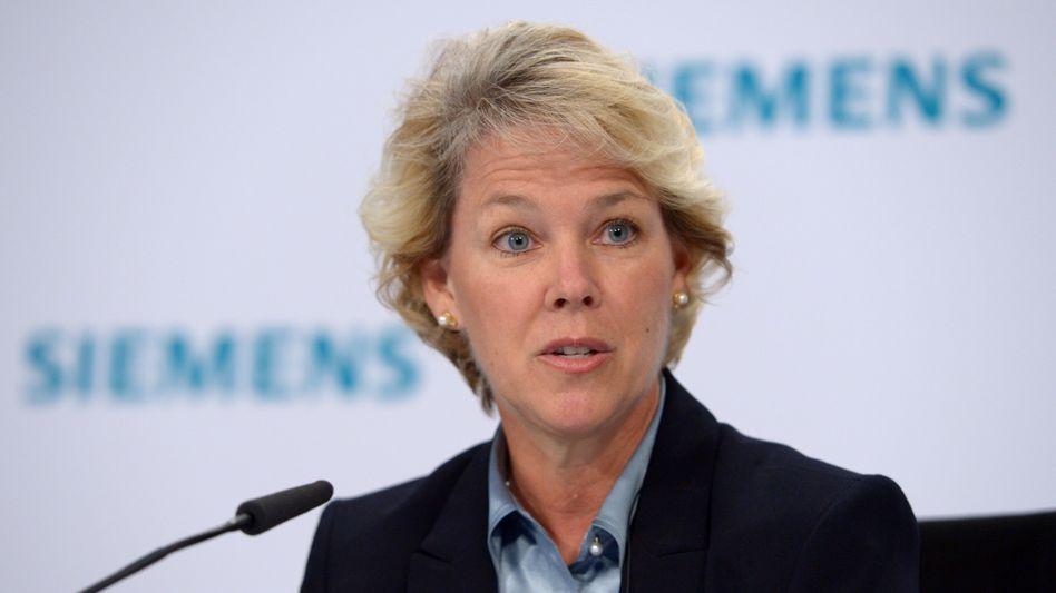 Bringt ihre Sparte an die Börse und verabschiedet sich dann von Siemens: Energievorstand Lisa Davis.