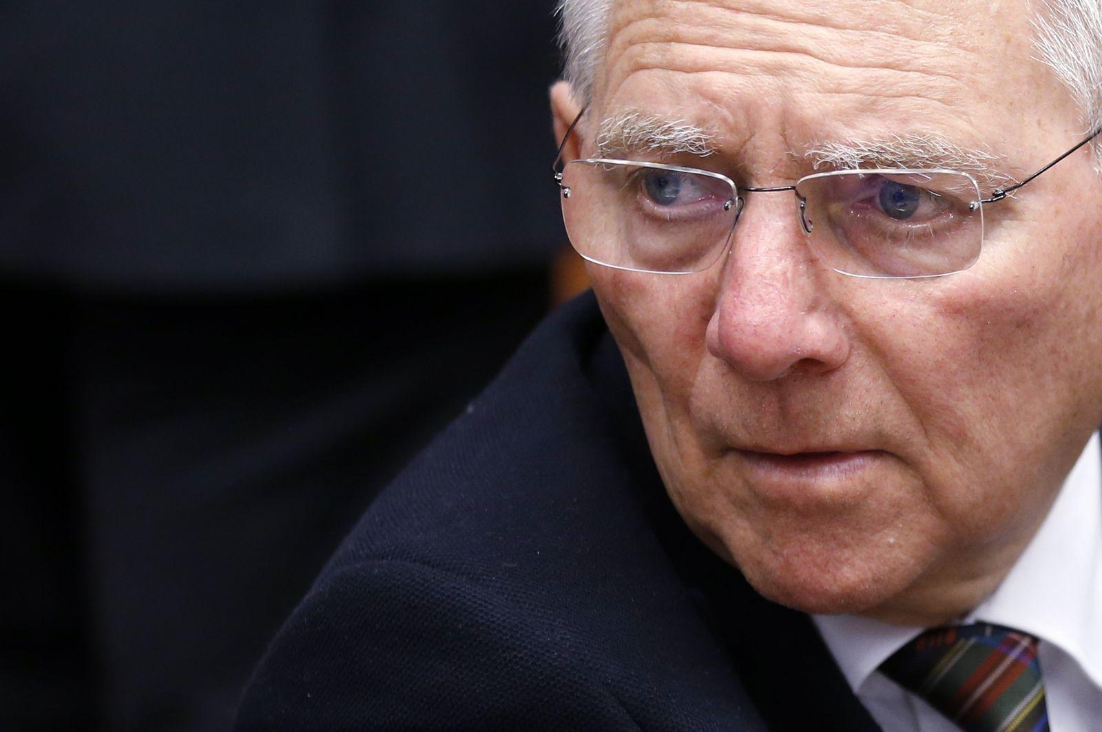 EUROZONE-GREECE/ Schäuble