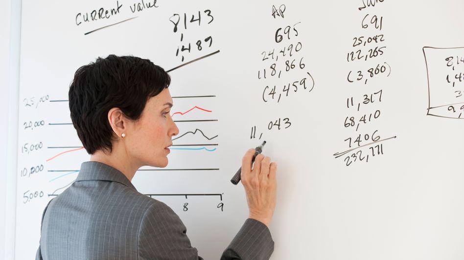 Mit den Zahlen ist es vergleichsweise einfach: Aufsichtsrätin wird man nicht im Hörsaal