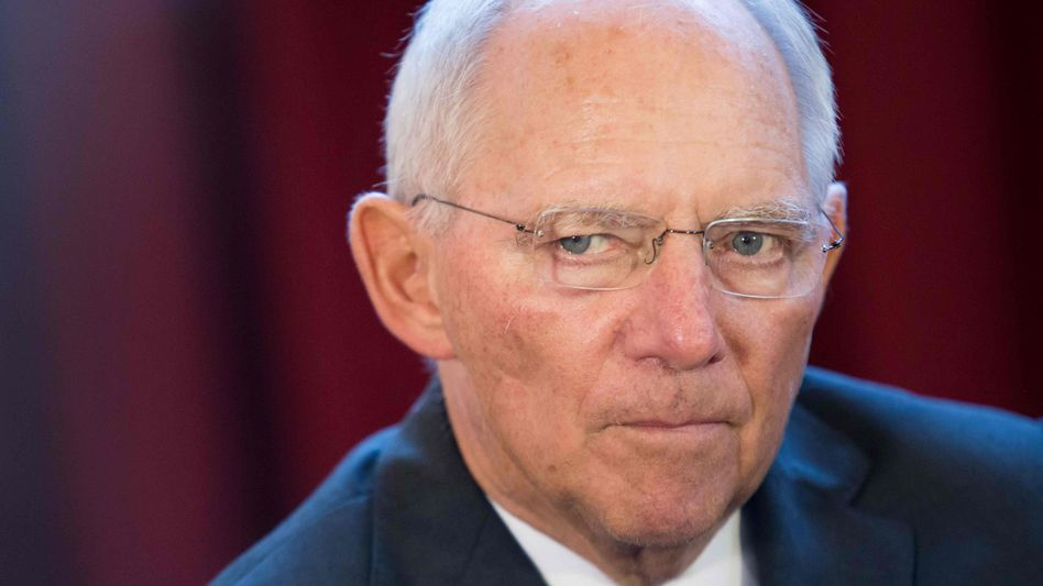Wolfgang Schäuble: Eigentlich hatte der Bundesfinanzminister mit 2,5 Milliarden Euro aus Frankfurt gerechnet, jetzt kommen nur 400 Millionen Euro