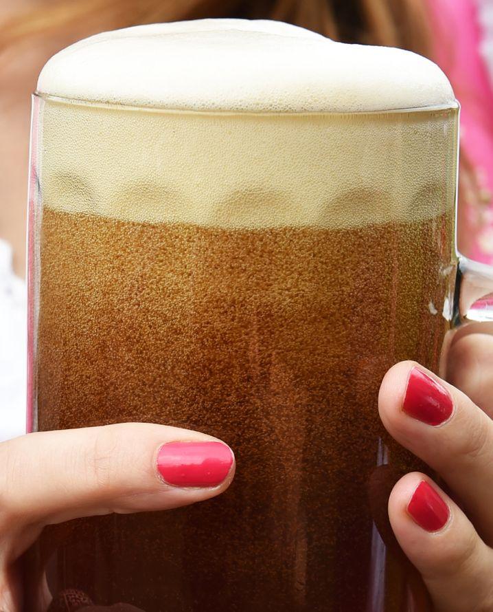 Das in Deutschland gebraute Bier wird vor allem für den Heimatmarkt produziert