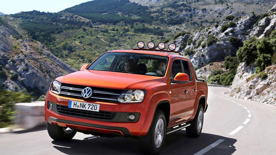 VW-Pickup Amarok: In Deutschland sind 4300 der insgesamt 8000 vom Abgasskandal betroffenen Fahrzeuge repariert
