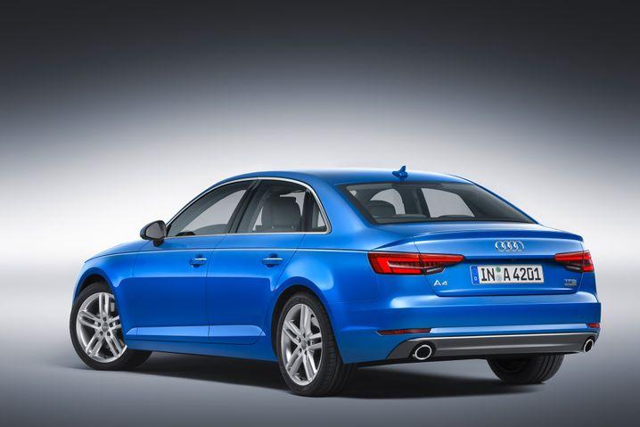 Audi A4: Platz 10 im Ranking der meistzugelassenen Autos in Deutschland im Jahr 2015
