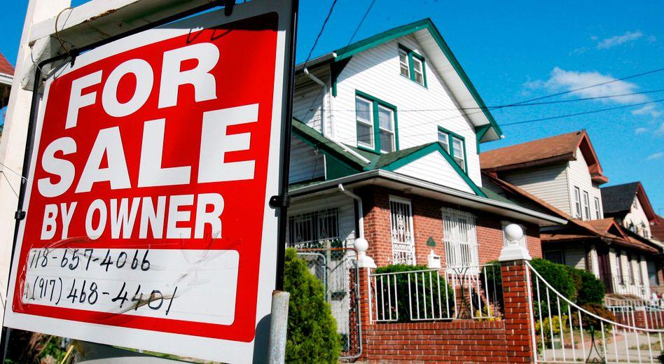 Häuser zu verkaufen: Der Markteinbruch 2007 hat viele Amerikaner ruiniert - jetzt sind die Preise wieder auf hohem Niveau
