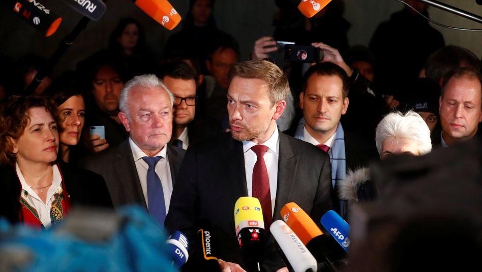 FDP-Politiker Beer, Kubicki und Lindner