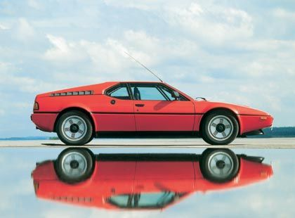 1979: BMW M1 - in der Nähe von Ferrari