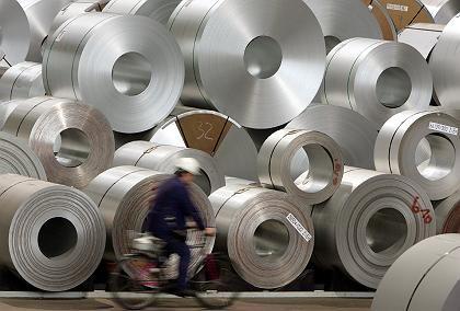 Stahl-Coils: Auch Erze, Eisen und Stahl verteuerten sich