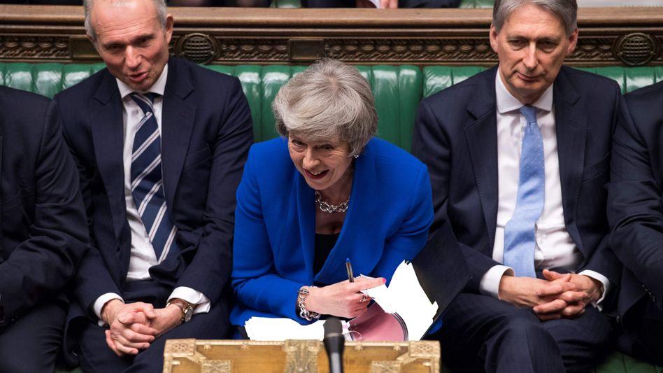"""Theresa May: """"Unmöglich, einen harten Brexit auszuschließen, ohne den gesamten Austrittsprozess zu stoppen"""""""