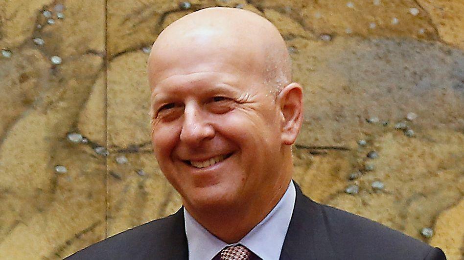 """""""Aus Fehlern lernen"""": Goldmann-Sachs-Chef Solomon muss wegen des 1MDB-Skandals auf Boni verzichten."""