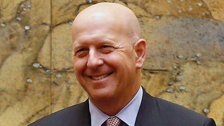 Unzufrieden mit dem Aktienkurs: Goldman-Sachs-CEO David Solomon