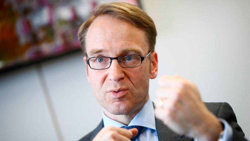 Bundesbank-Chef Jens Weidmann: Neue Bilanzprüfung vor Übernahme der Bankenaufsicht durch die EZB