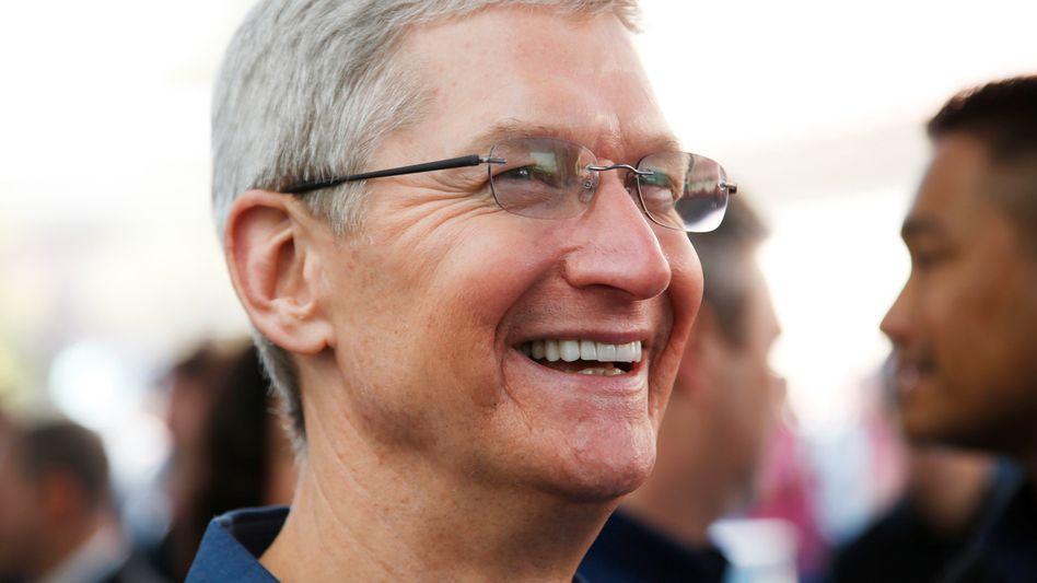 """Apple-Chef Cook: """"Im Moment verkaufen wir alles, was wir produzieren können"""""""