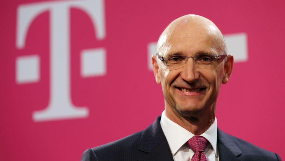 Telekom-Chef Tim Höttges: Er hat es doch schon immer gesagt