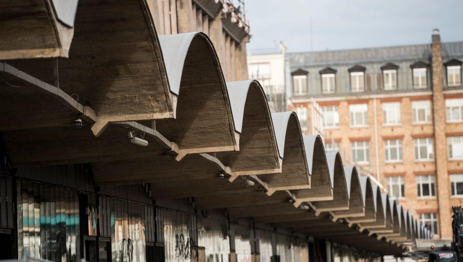 Gründerzentrum Station F in Paris: In dem ehemaligen Bahndepot im 13. Arrondissement ist Platz für mehr als 1000 Start-ups