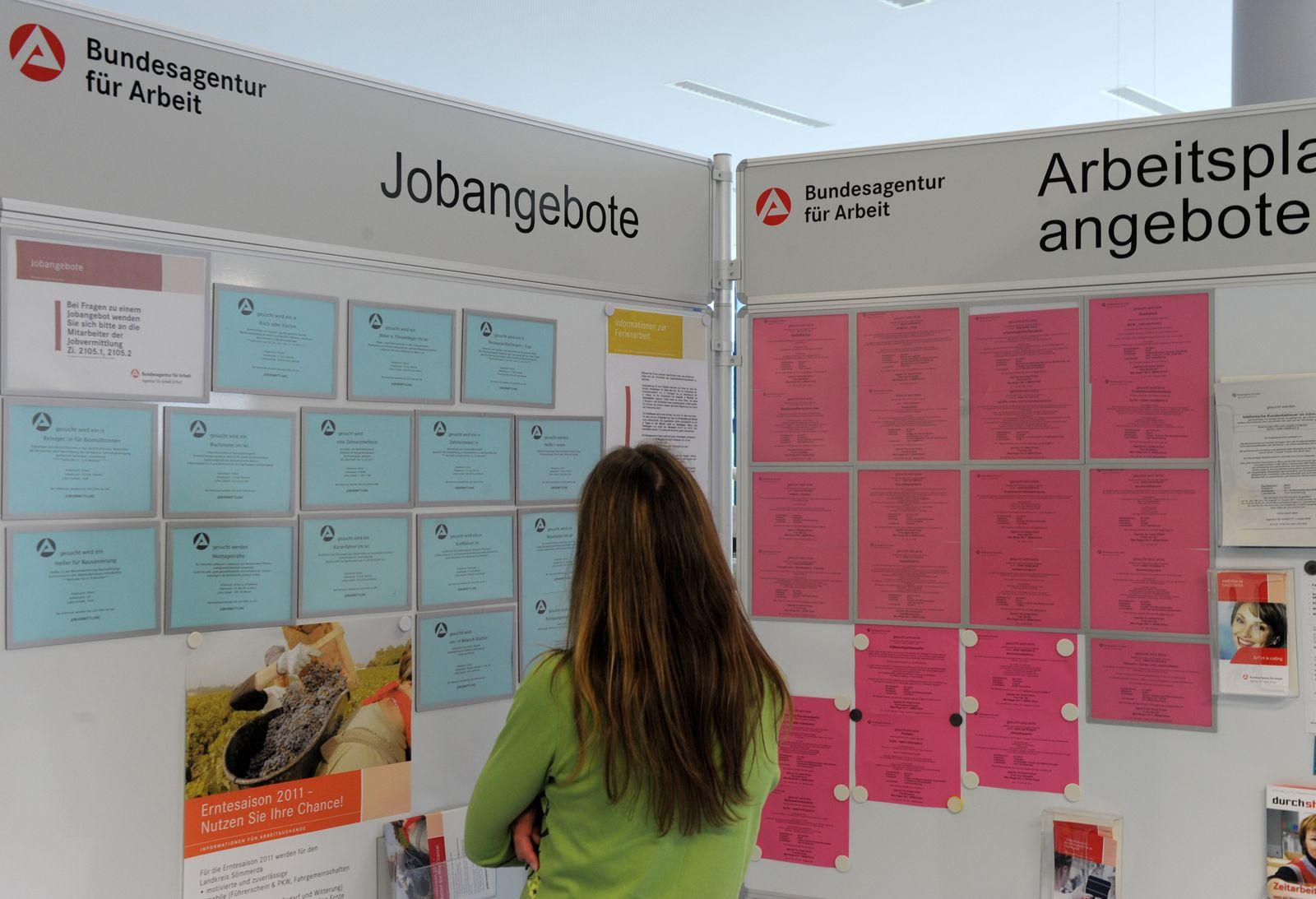 Thüringer Arbeitsmarktdaten / Jugendarbeitslosigkeit / Jobbörse