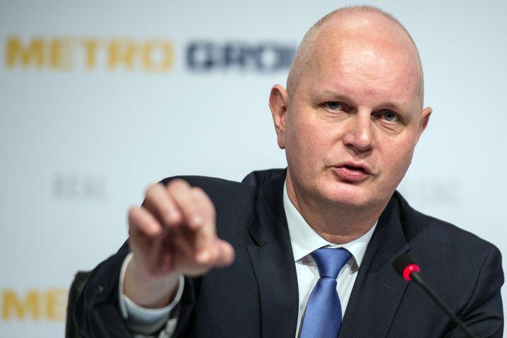 Ob Kretinsky genügend Aktionäre überzeugen kann? Um Mitternacht hat Metro-Chef Olaf Koch (Foto) Klarheit.