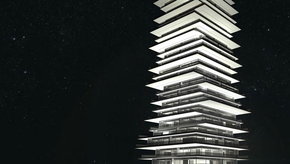 Der Turm von Prora: 104 Meter in die Höhe