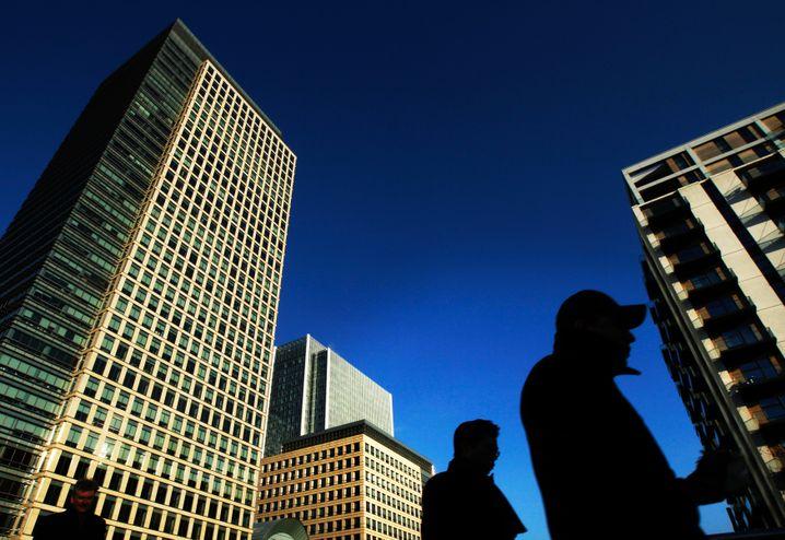 Finanzdistrikt London: Billiges Geld, fehlende Anlage-Alternativen und stets steigende Mieten ziehen Milliarden-Investionen aus dem Ausland an