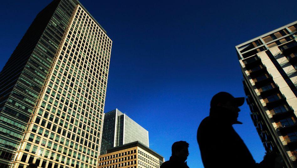 Londons Finanzcenter Canary Wharf: Libor-Ermittlung bald nicht mehr in britischer Hand