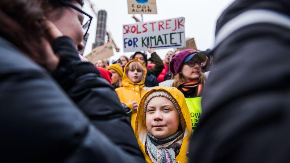 Fridays for Future: Die schwedische Klimaaktivistin Greta Thunberg hat den Anstoß für die Klimademos gegeben
