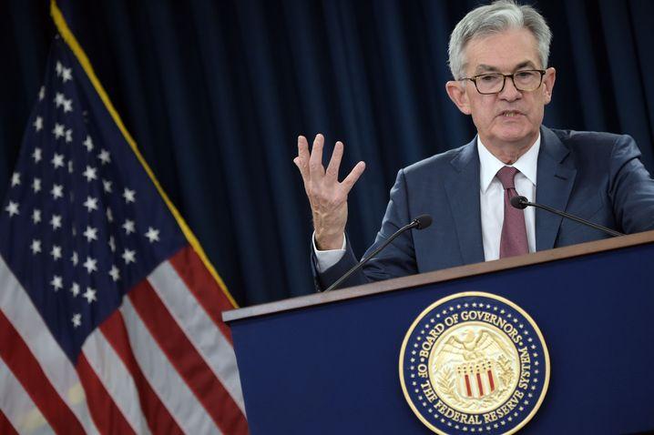 """""""Für so viel Erleichterung und Stabilität wie möglich sorgen"""" will Fed-Chef Jerome Powell"""