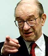 Notenbankchef Alan Greenspan
