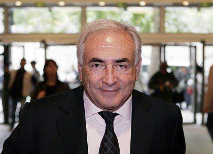 Kandidat für den IWF-Vorsitz: Strauss-Kahn, der ehemalige Finanzminister von Frankreich