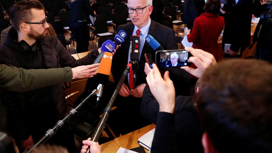 Jürgen Resch von der Deutschen Umwelthilfe
