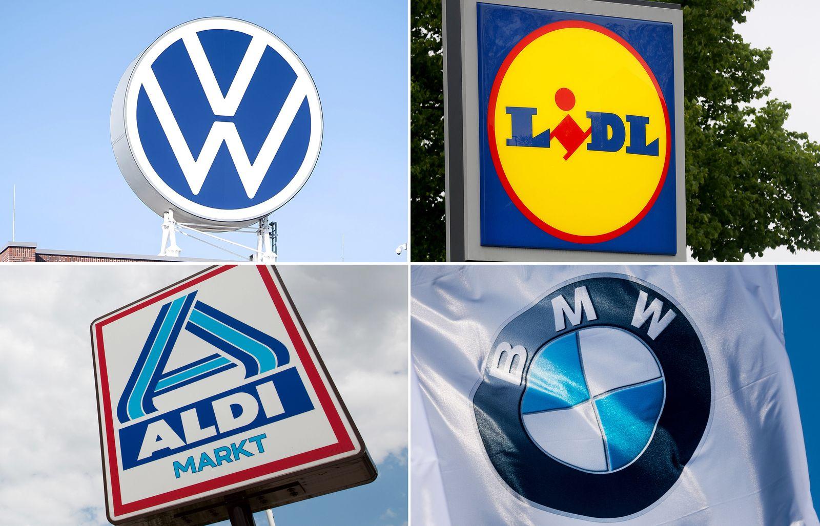 KOMBO VW; Lidl; Aldi; BMW