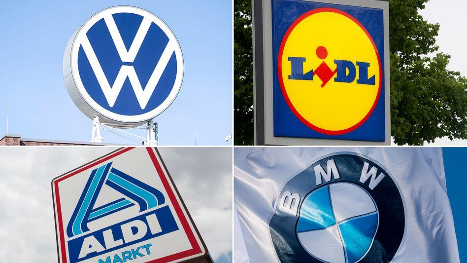 VW, Lidl, BMW und Aldi gehören zu den zwölf umsatzstärksten Familienunternehmen weltweit