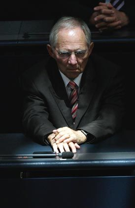 Regierungserfahren: Der neue Finanzminister Wolfgang Schäuble bringt Autorität und Erfahrung mit